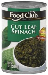 Food Club Spinach Cut Leaf
