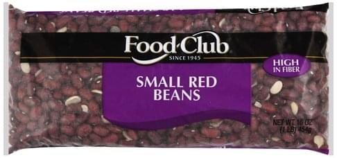 Food Club Small Red Beans - 16 oz