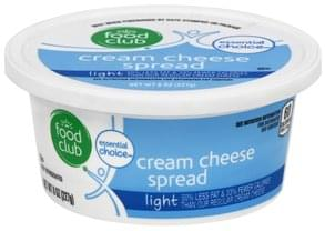 Food Club Cream Cheese Spread Light