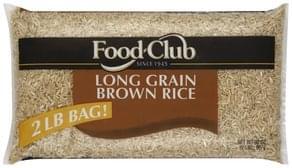 Food Club Brown Rice Long Grain
