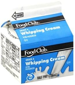 Food Club Whipping Cream