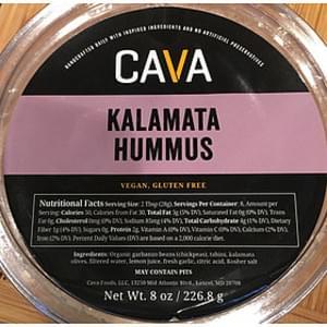 Cava Kalamata Hummus