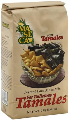 Ma Se Ca Instant, for Tamales Corn Masa Mix - 4.4 lb