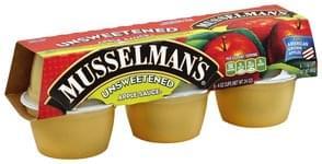 Musselmans Apple Sauce Unsweetened