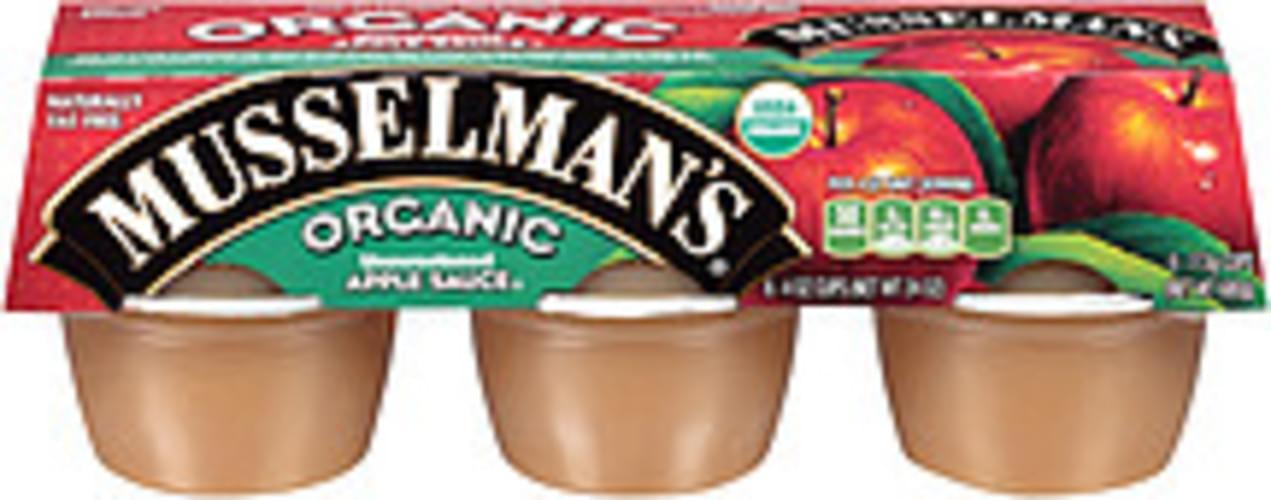 Musselman's Organic Unsweetened Apple Sauce - 24 oz