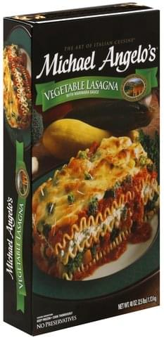 Michael Angelos Vegetable Lasagna - 40 oz
