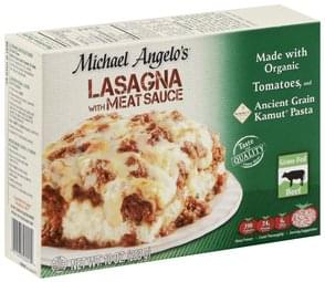 Michael Angelos Lasagna with Meat Sauce