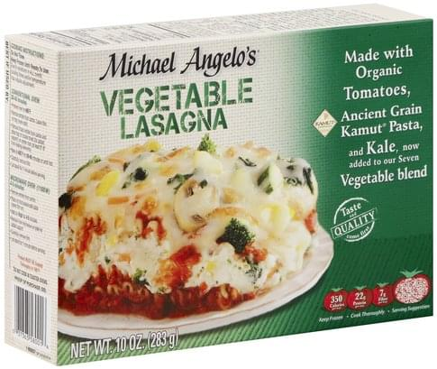 Michael Angelos Vegetable Lasagna - 10 oz