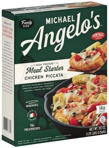 Michael Angelos Family Size Chicken Piccata - 20 oz