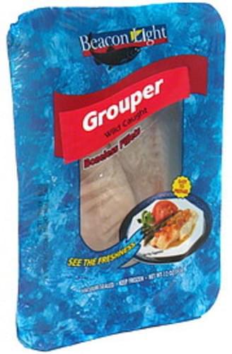 Beacon Light Grouper, Boneless Fillet - 12 oz