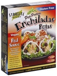 Starlite Cuisine Enchiladas Rojas Pea Protein, Large