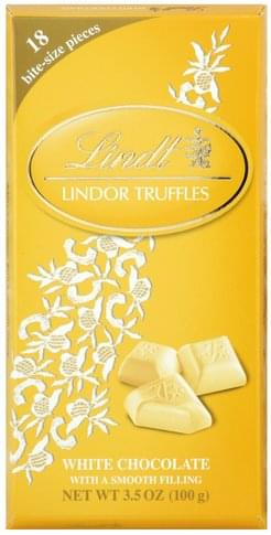 Lindt Lindor, White Chocolate Truffles