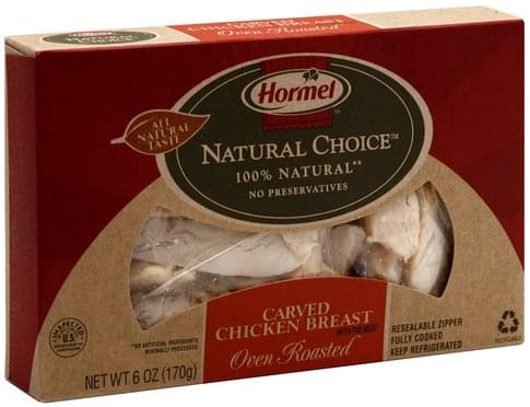 Hormel Oven Roasted Carved Chicken Breast - 6 oz