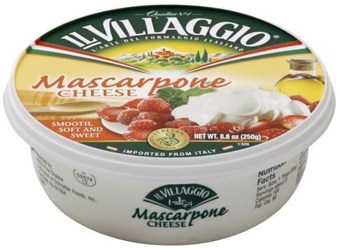 Il Villaggio Mascarpone Cheese - 8.8 oz