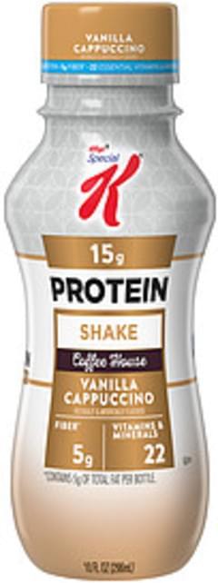 Kellogg's Protein Shake Special K Coffee House Vanilla Cappuccino