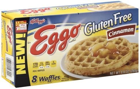 Eggo Cinnamon Waffles - 8 ea