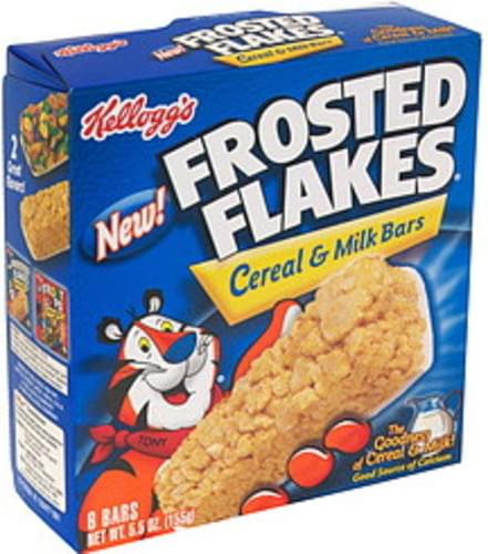 Frosted Flakes Cereal & Milk Bars