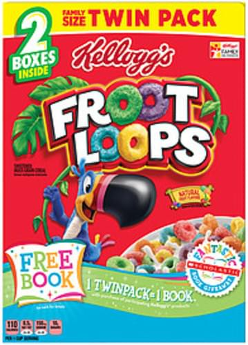 Froot Loops Family Size Twin Pack