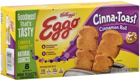 Eggo Cinna Toast, Mini Cinnamon Roll - 11.5 oz