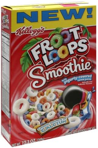 Froot Loops Cereal - 12.3 oz, Nutrition