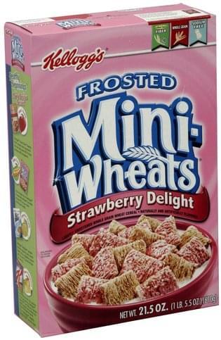 Mini Wheats Strawberry Delight Cereal