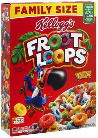 Froot Loops Family Size Cereal - 21.7