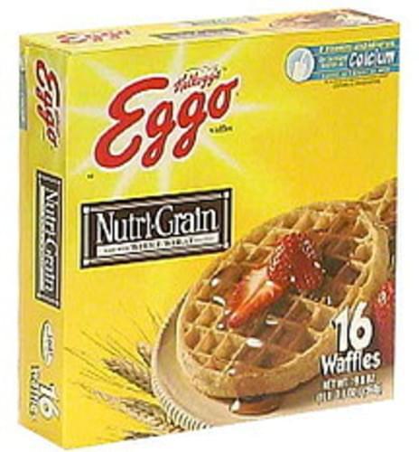 Eggo Waffles With Nutri-Grain Whole Wheat - 16 ea
