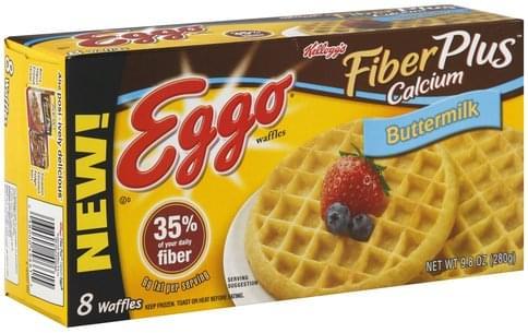 Eggo Buttermilk Waffles - 8 ea