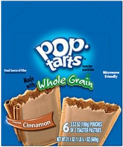 Kellogg's Toaster Pastries Pop-Tarts Whole Grain Frosted Cinnamon