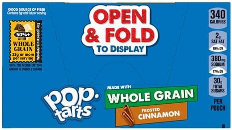 Pop Tarts Frosted Cinnamon Toaster Pastries - 6 ea