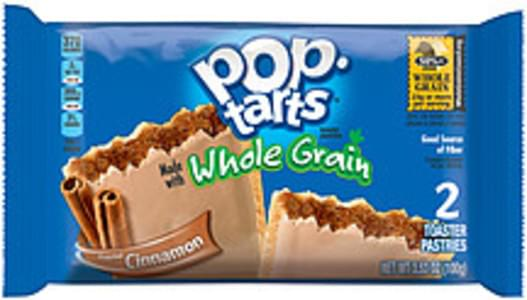 Kellogg's Toaster Pastries Pop-Tarts Whole Grain Frosted Cinnamon