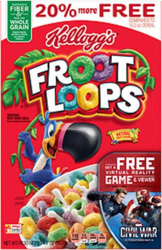 Kellogg's Froot Loops Cereal - 14.7 oz