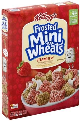 Mini Wheats Strawberry Cereal - 15.5 oz