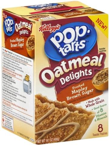 Pop Tarts Frosted Mapley Brown Sugar Toaster Pastries - 8 ea