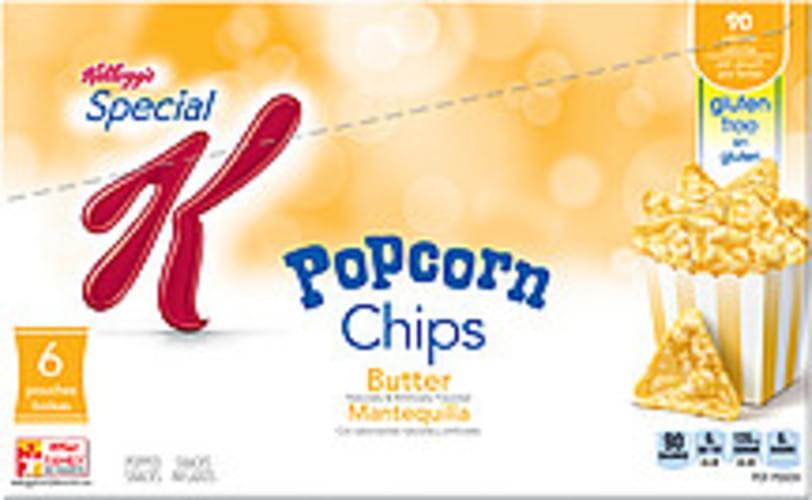 Kellogg S Special K Butter Popcorn Chips 4 62 Oz Nutrition Information Innit
