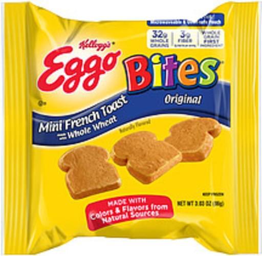 Eggo Bites Original Mini French Toast - 3.03 oz