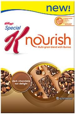 Kellogg's Multi-Grain Bar Nourish Dark Chocolate Nut Delight