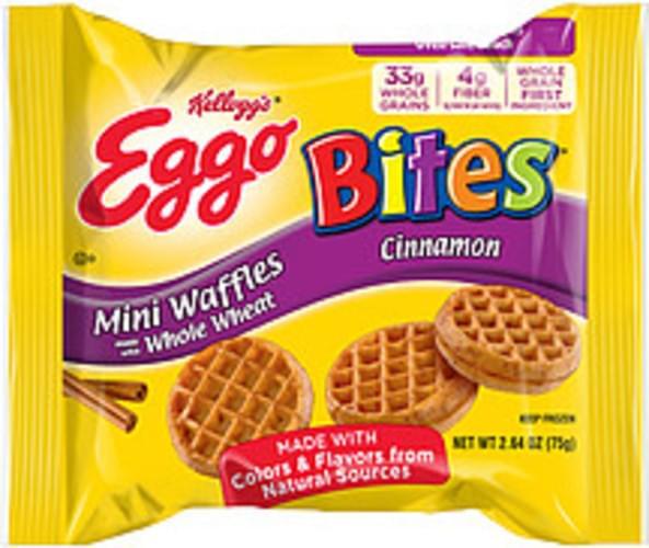 Eggo Bites Cinnamon Mini Waffles - 2.64 oz