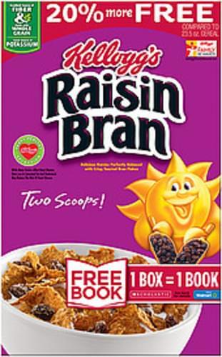 Kellogg's Raisin Bran Cereal - 28.2 oz