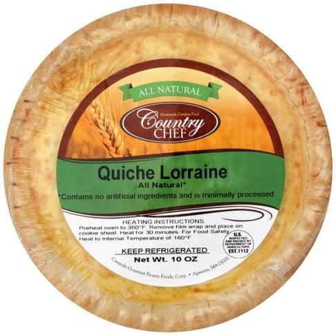 Country Chef Quiche Lorraine - 10 oz