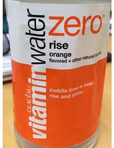 Glaceau Vitamin Water Zero Rise Orange