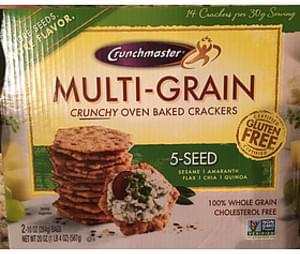 Crunchmaster Multi-Grain Crackers 5 Seed