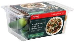 Plated Cooking Kit for Two, Middle Eastern Inspired Quinoa Salad