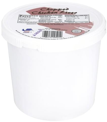 Blue Ridge Farms Chopped Chicken Liver 80 Oz Nutrition Information Innit