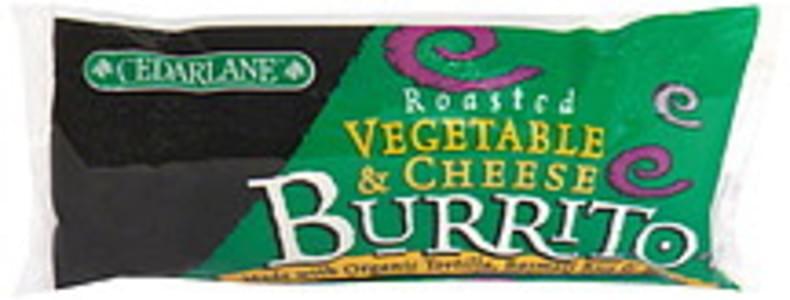 Cedarlane Burrito Roasted Vegetable & Cheese