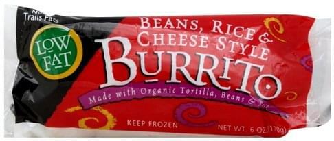 Cedarlane Beans, Rice & Cheese Style Burrito - 6 oz