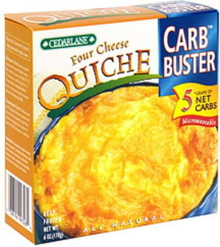 Cedarlane Four Cheese Quiche - 6 oz
