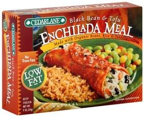 Cedarlane Enchilada Meal Black Beans & Tofu