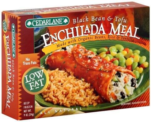 Cedarlane Black Beans & Tofu Enchilada Meal - 9 oz