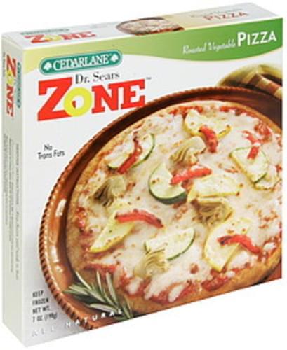 Cedarlane Roasted Vegetable Pizza - 7 oz